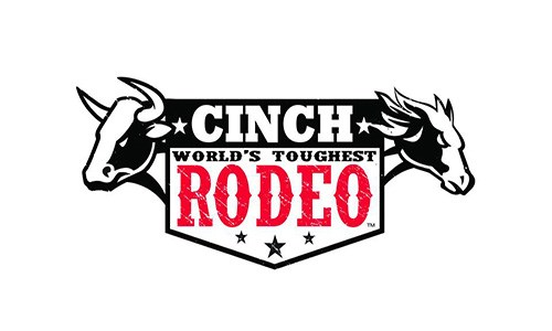 cinch world's toughest rodeo logo