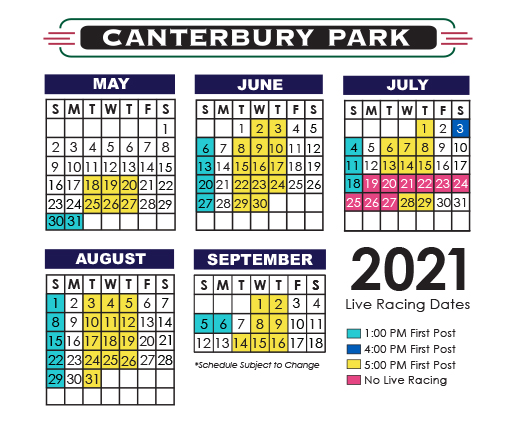 Live Racing at Canterbury Park